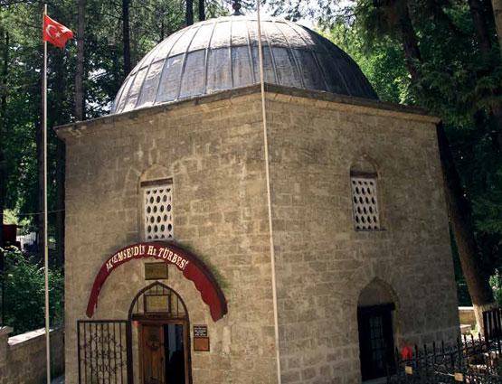 İSTANBUL'UN MANEVÎ FÂTİHİ AKŞEMSEDDİN VE TÜRBESİ