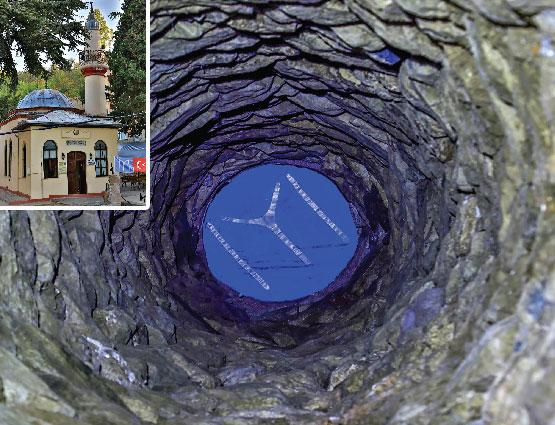 KAYI'LARIN İLK ESERİ KUYULU MESCİT
